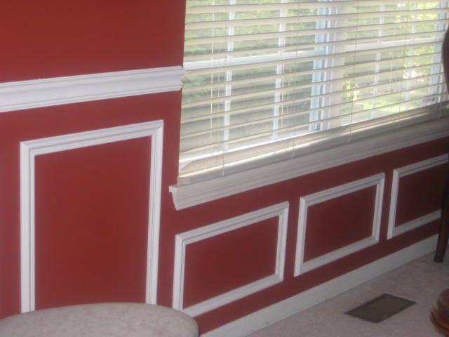 Chair Rail Under Window Part - 15: Shadow Boxes Under A Window