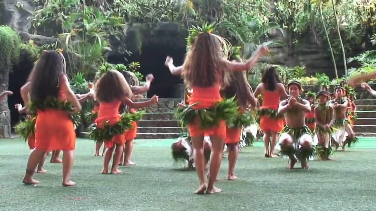 YouTube Tahitian dance, Tahiti, Hula dancers