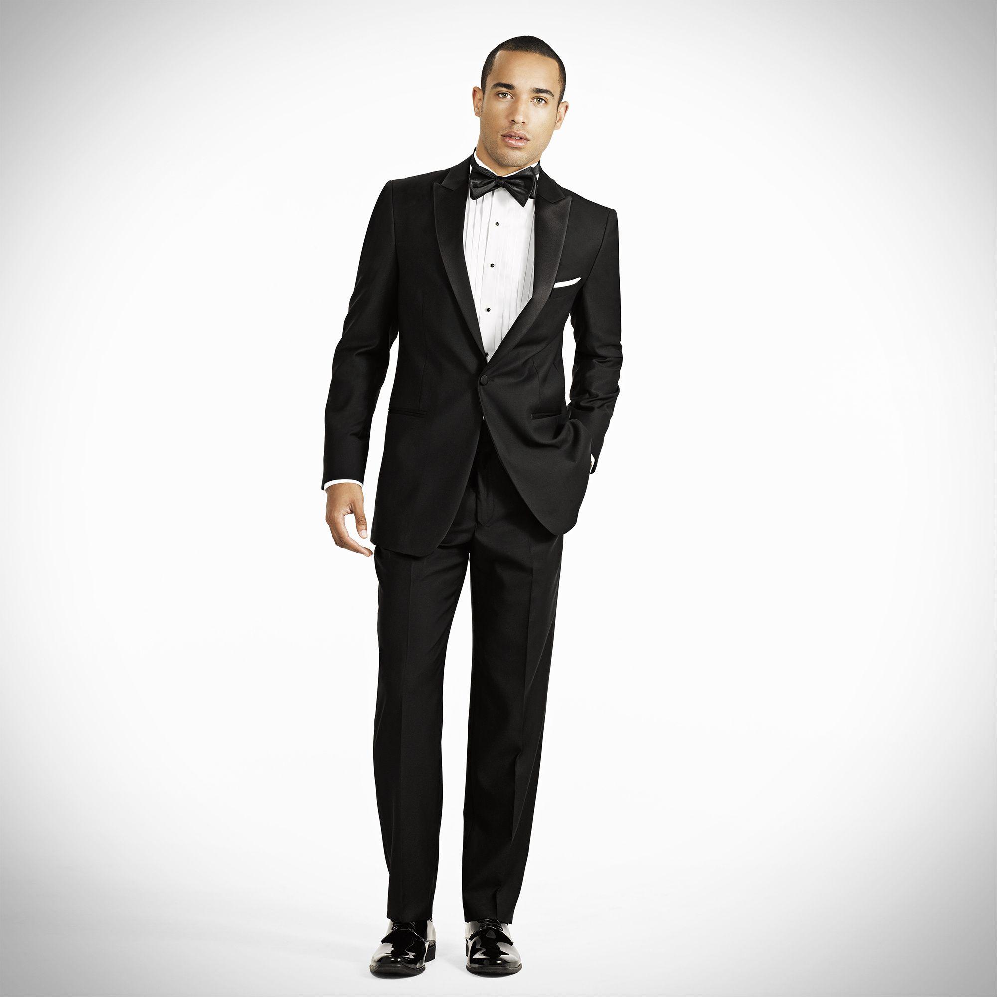 Black Peak Lapel Tux Generation tux, Wedding suit rental