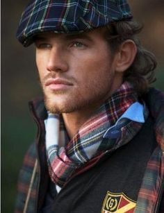 . . . mad for plaid (and good looking men!)