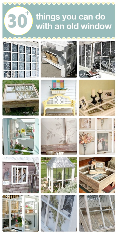 217 Ideas On What To Do With Old Windows Old Window