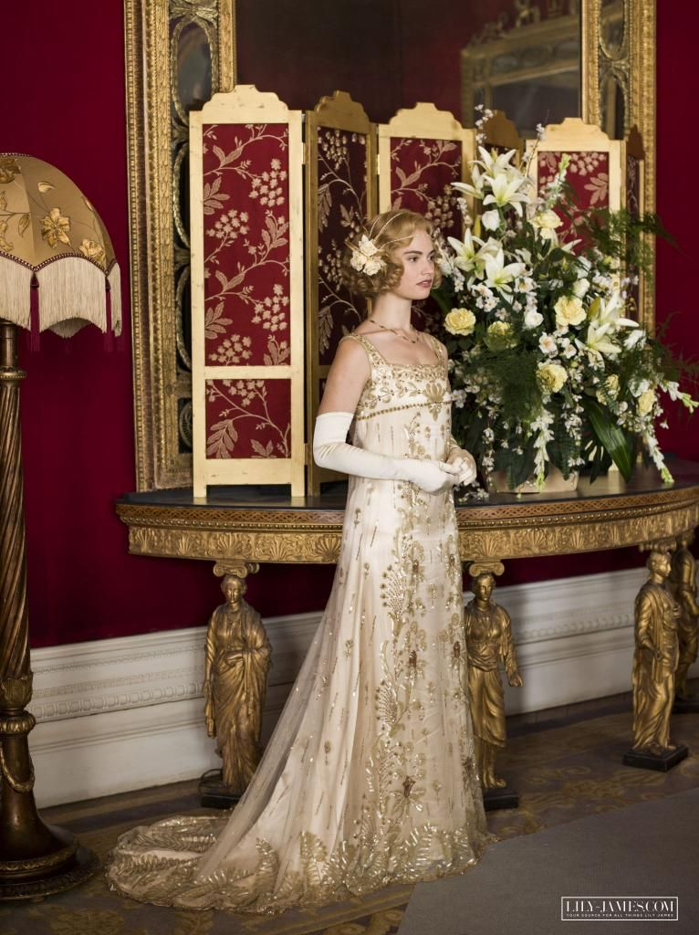 Downton abbey 39 s wedding gown will brighten your day rose for Downton abbey style wedding dress