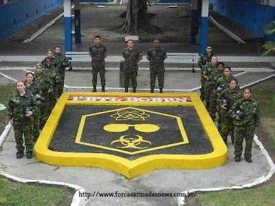 Exercito Realiza Estagio De Defesa Qbrn Com Imagens Exercito