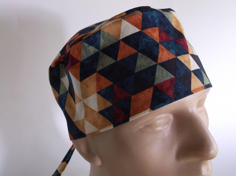 Southwest Sunset - Men s Surgical Scrub Hat with sweatband option - scrub  cap 833dcb16d228