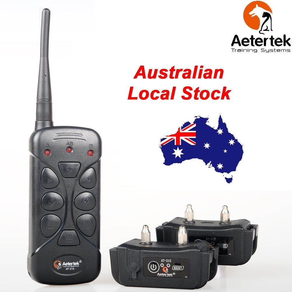 Aetertek At 215c 2 Dog Rechargeable 600 Yard Remote Training Shock Collar With Vibration And Shock Correction Mode Hope That Yo Shock Collar Dogs Repellents