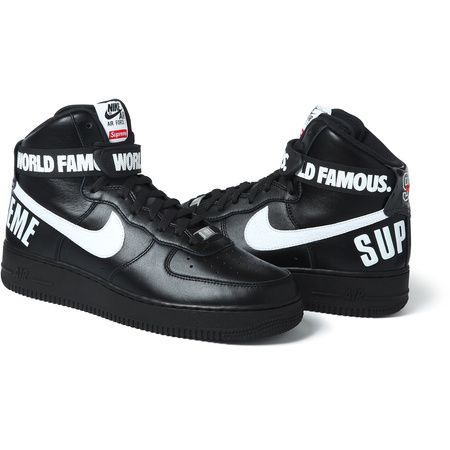 Nike®/Supreme Air Force 1 Hi | Cool Collabs - that's what the kids call  them. | Pinterest | Supreme, Air force and Footwear