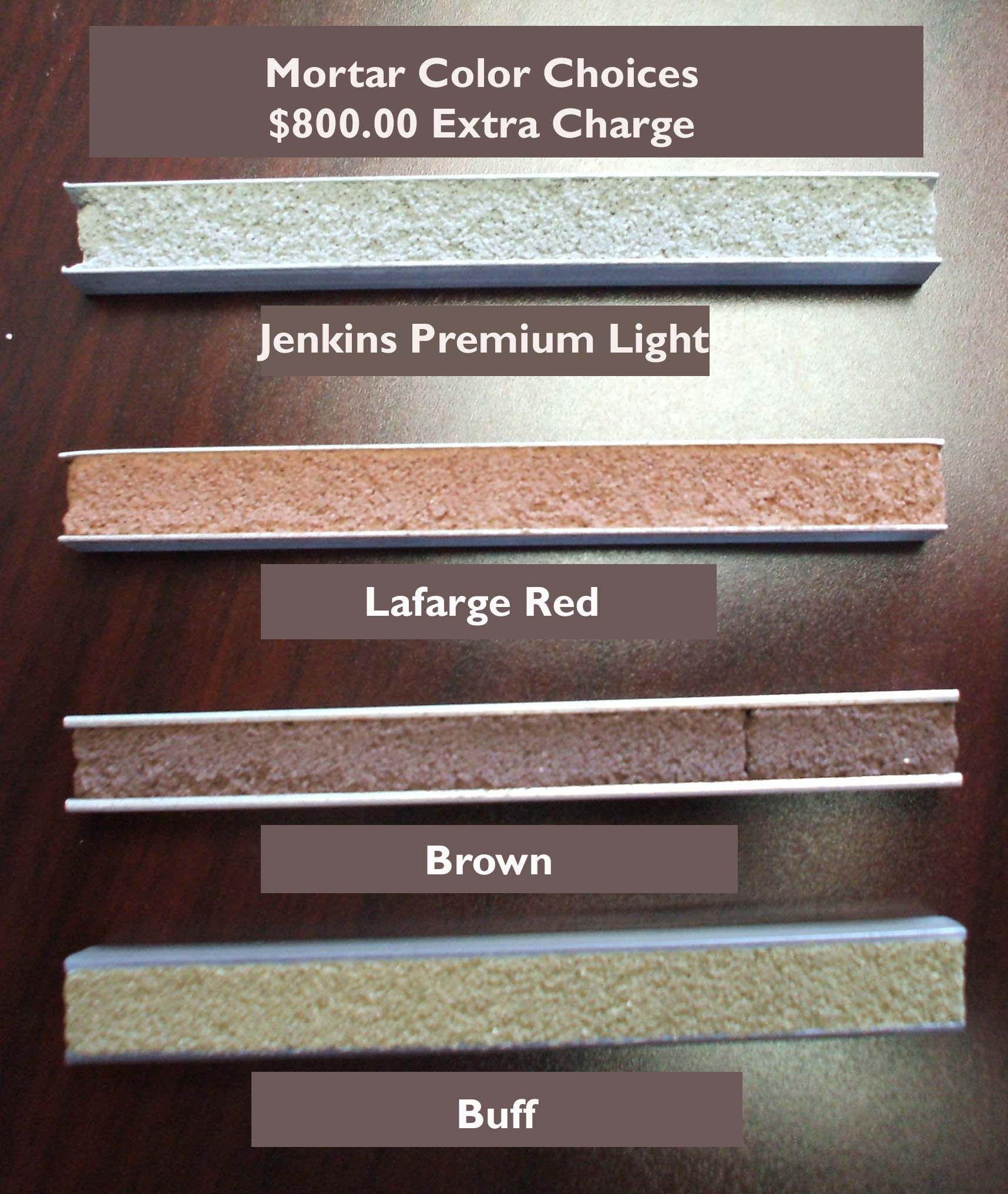 Brick Mortar Color Choices Heritage Homes Fl Brick