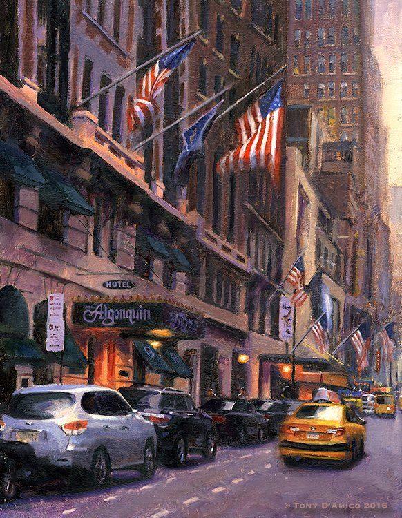 Tony DAmico, Manhattan Glory 18x14