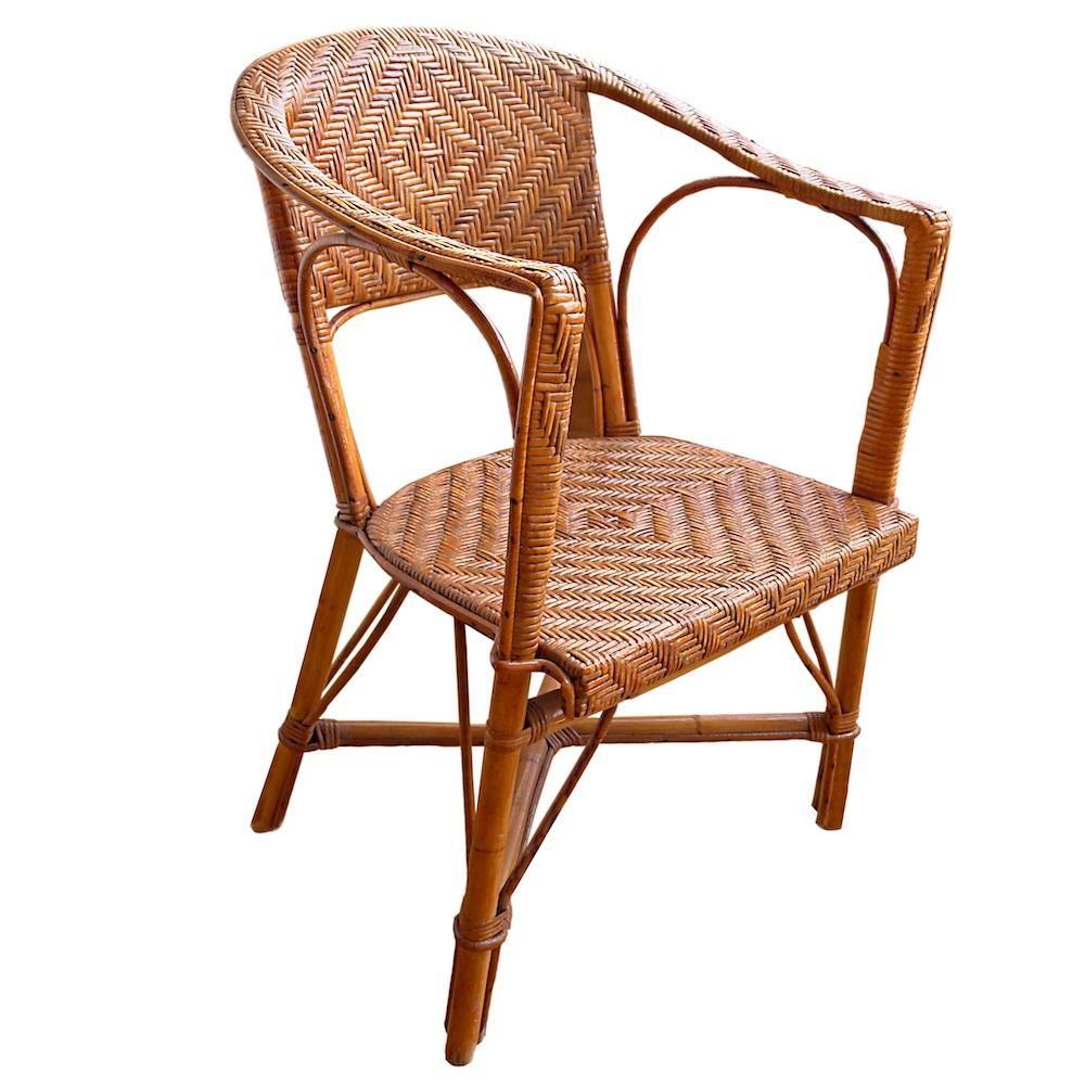 sillas antiguas de mimbre Buscar con Google Sillas de