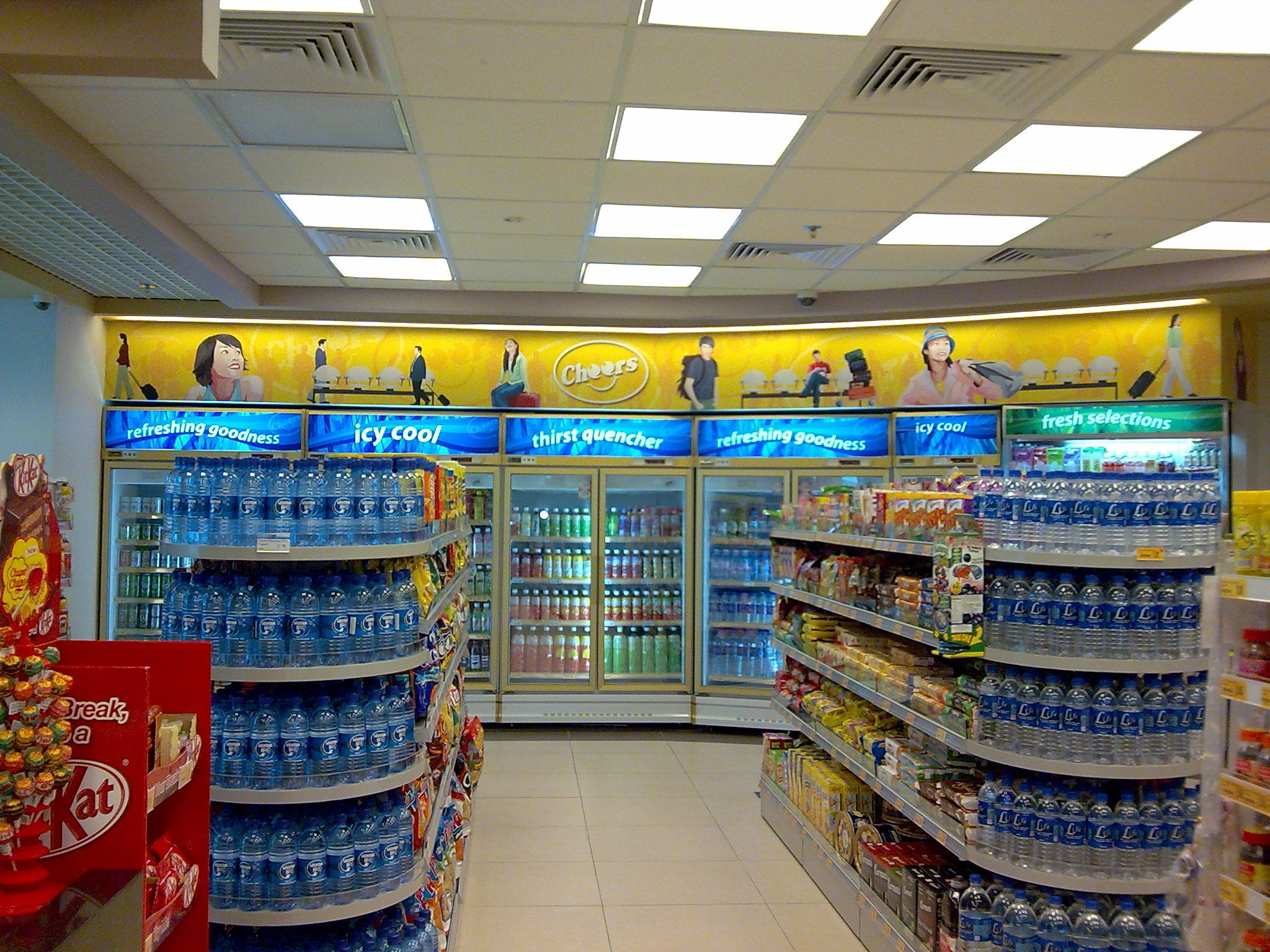 Convenience store design an layout supermarket for Convenience store exterior design