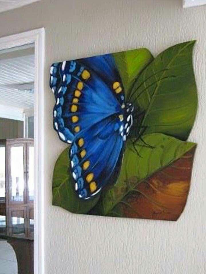 Resultado de imagen para pinturas al oleo de mariposas - Ideas para pintar cuadros ...