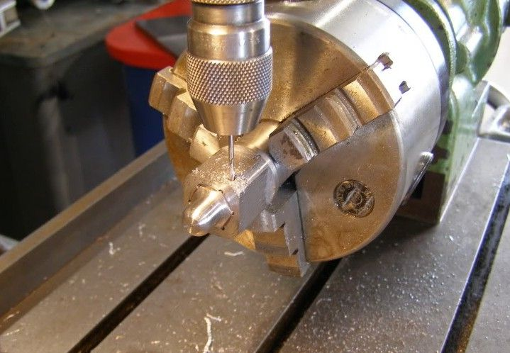 SAFETY WIRE DRILLING FIXTURE