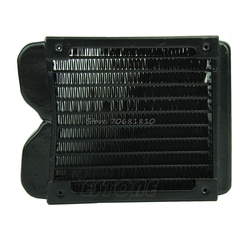 120mm G1 4 Aluminum Computer Radiator Water Cooling Cooler For Led