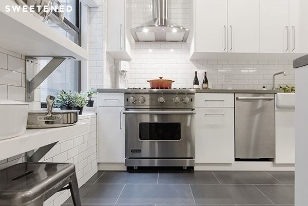 Before After Kaija and Johns Prospect Heights Kitchen