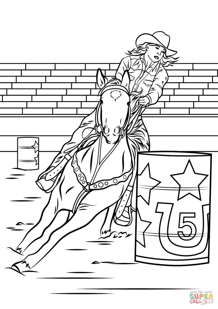 Horse Coloring Pages Animal Coloring