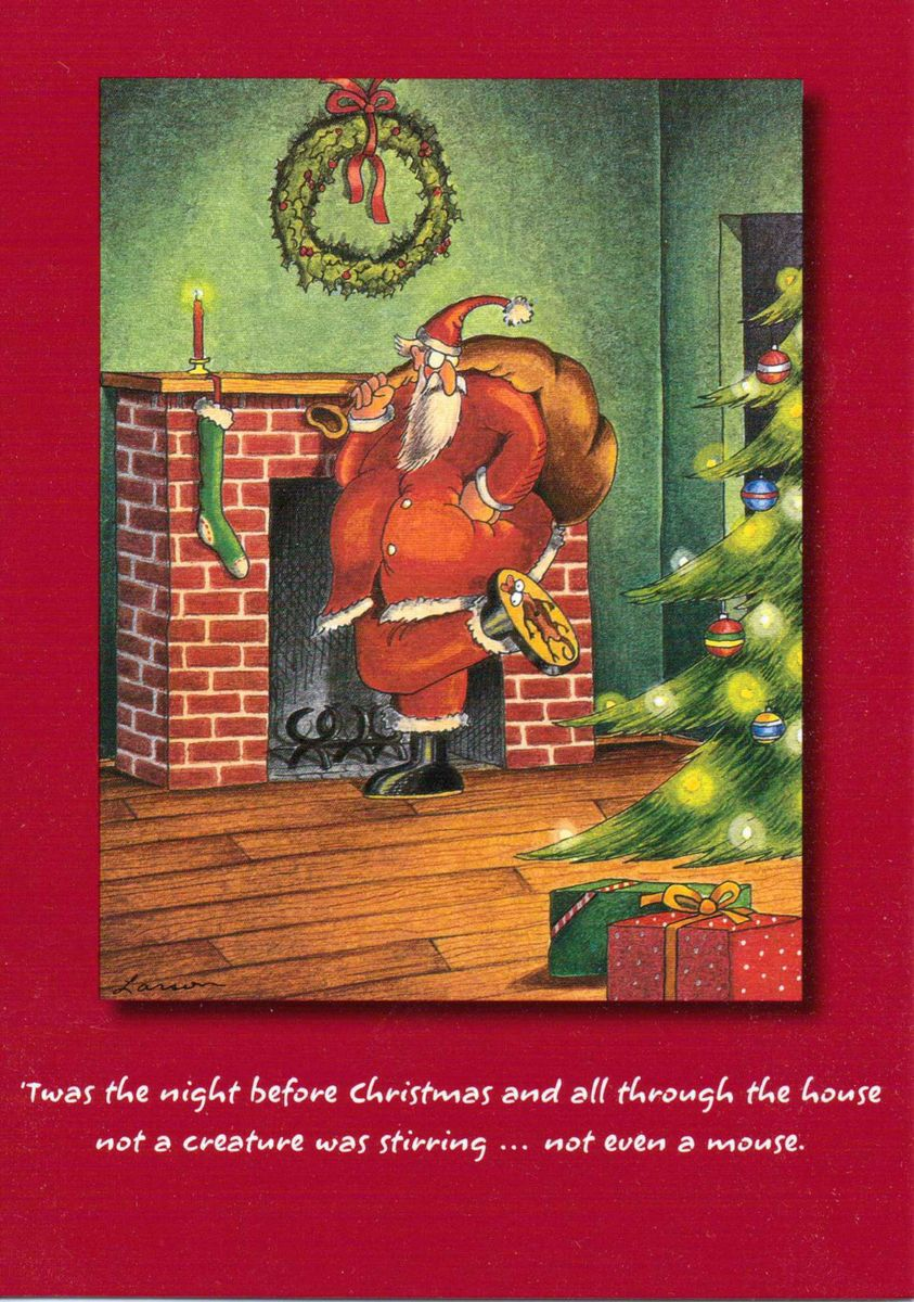 Pin by jessica atreides on gary larson pinterest gary larson and the far side twas the night before christmas and all through the house not a creature was stirring m4hsunfo