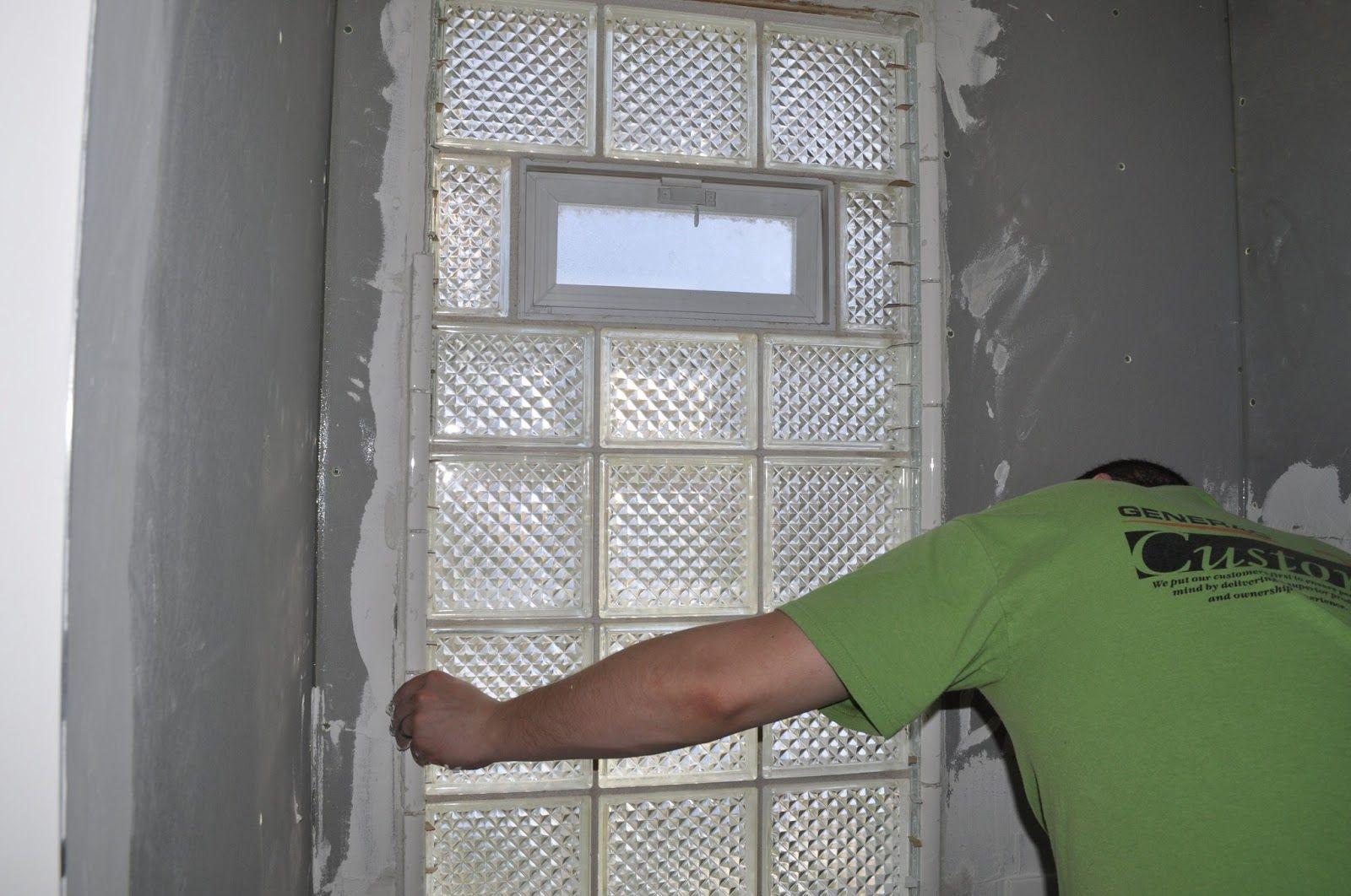Bathroom Tile Love Glass Block Windows Bathrooms Remodel Window Vents