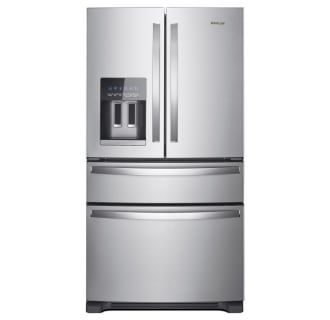 Whirlpool Wrx735sdhz Stainless Steel 36 Inch Wide 24 5 Cu Ft Energy Star Rated French Door Refrigerator In 2020 French Door Refrigerator Stainless Steel French Door Refrigerator Refrigerator Whirlpool