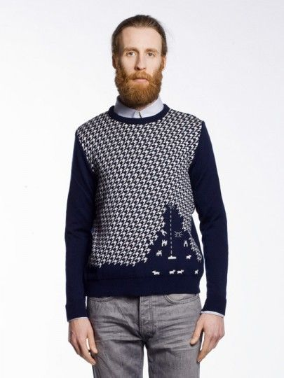 Just a Sheep Invaders Sweater.