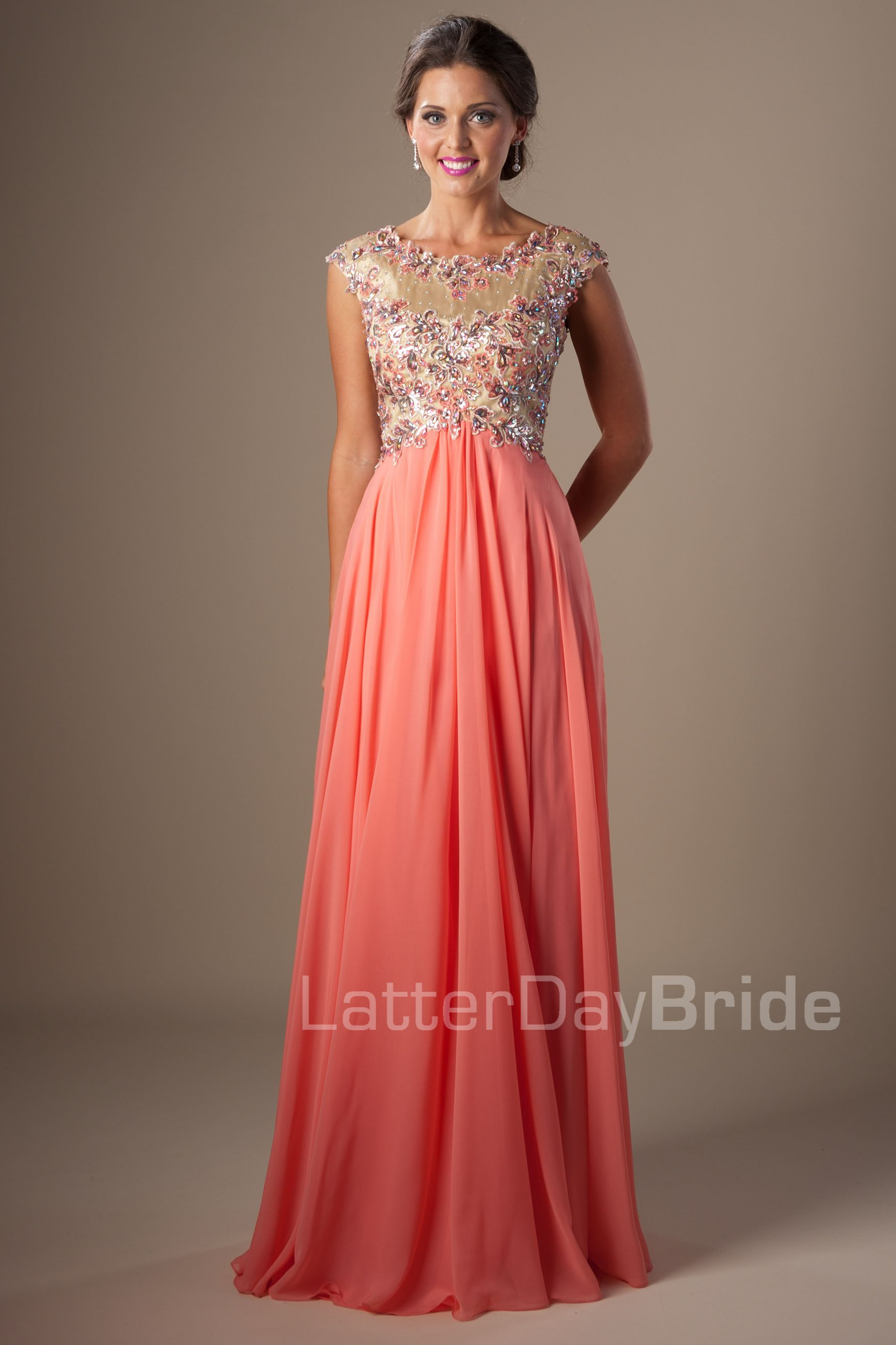 Modest Prom Dresses : Felicity | Fancy | Pinterest | Modest formal ...