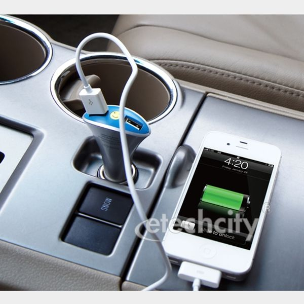 ASM 2.1A Dual USB Car Charger Adapter [UCC-PHP2A] - $18.00