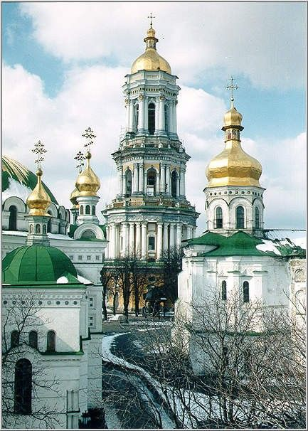 great lavra bell tower - Google Search