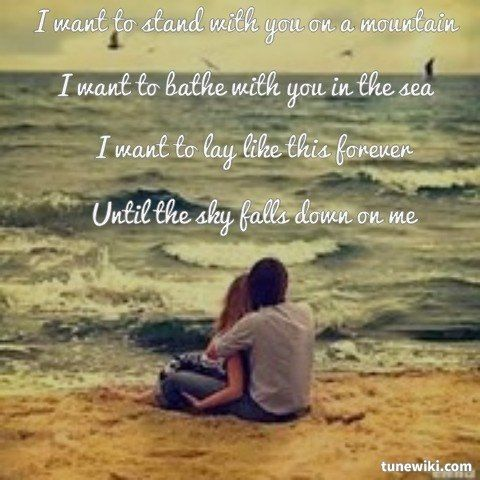 Lyricart For Truly Madly Deeply By Savage Garden Someday We 39 Ll Know Pinterest