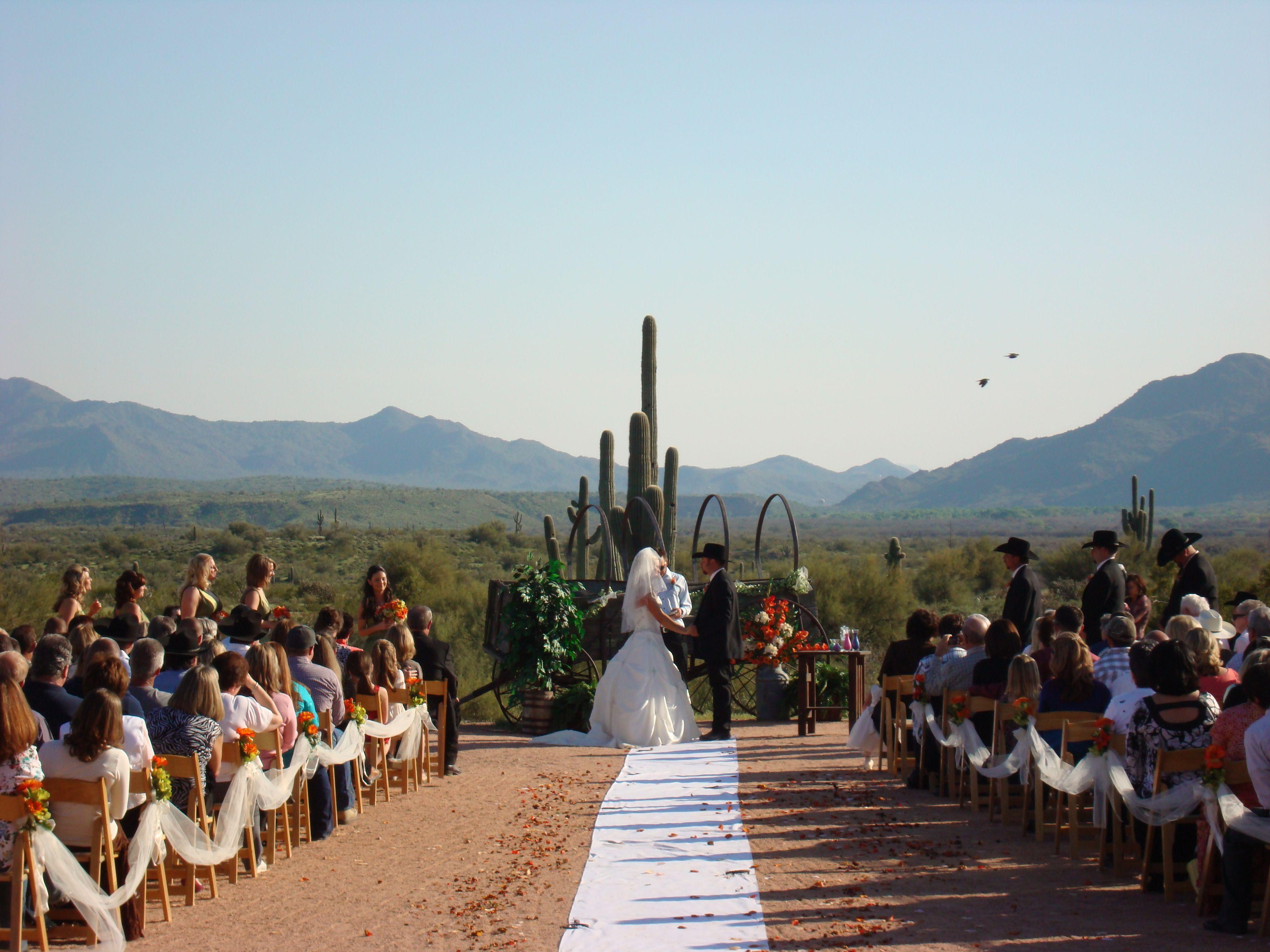 Fort McDowell Adventures Outdoor Weddings