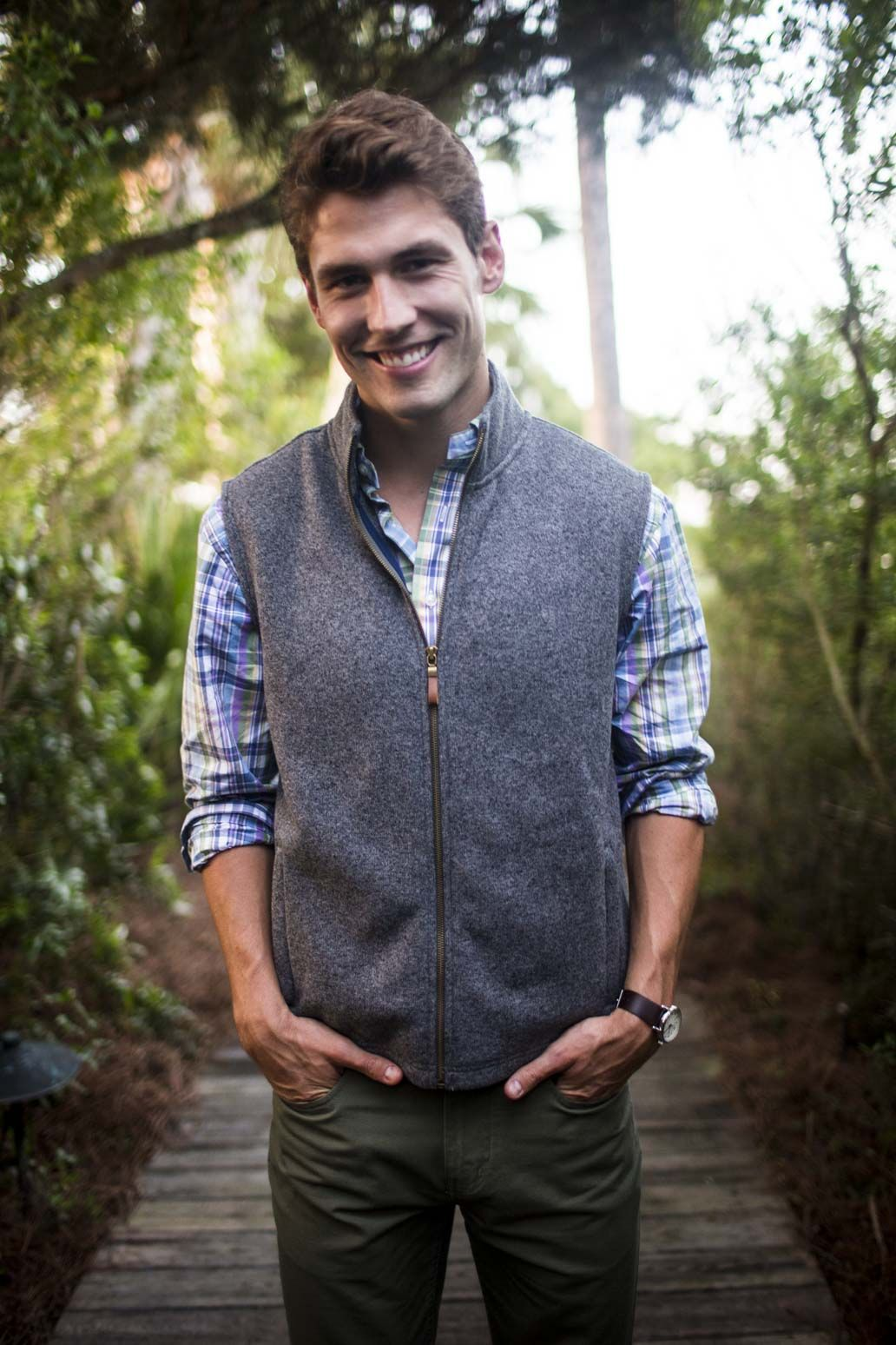 Vests Are Too Casual Without A Suit Jacket Worn Over It At