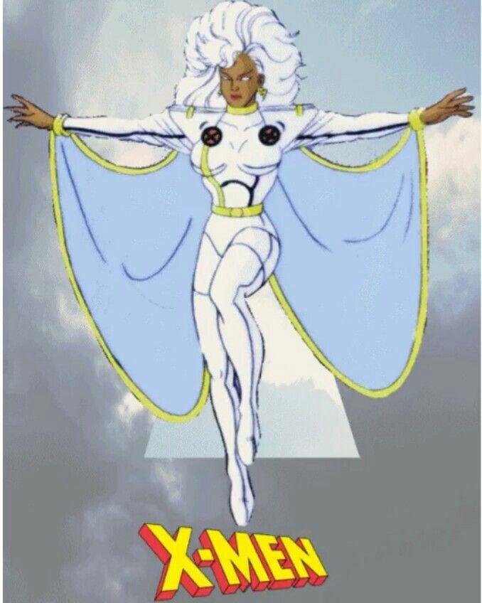 Storm X Men Cartoon X Men The Uncanny Comic Art