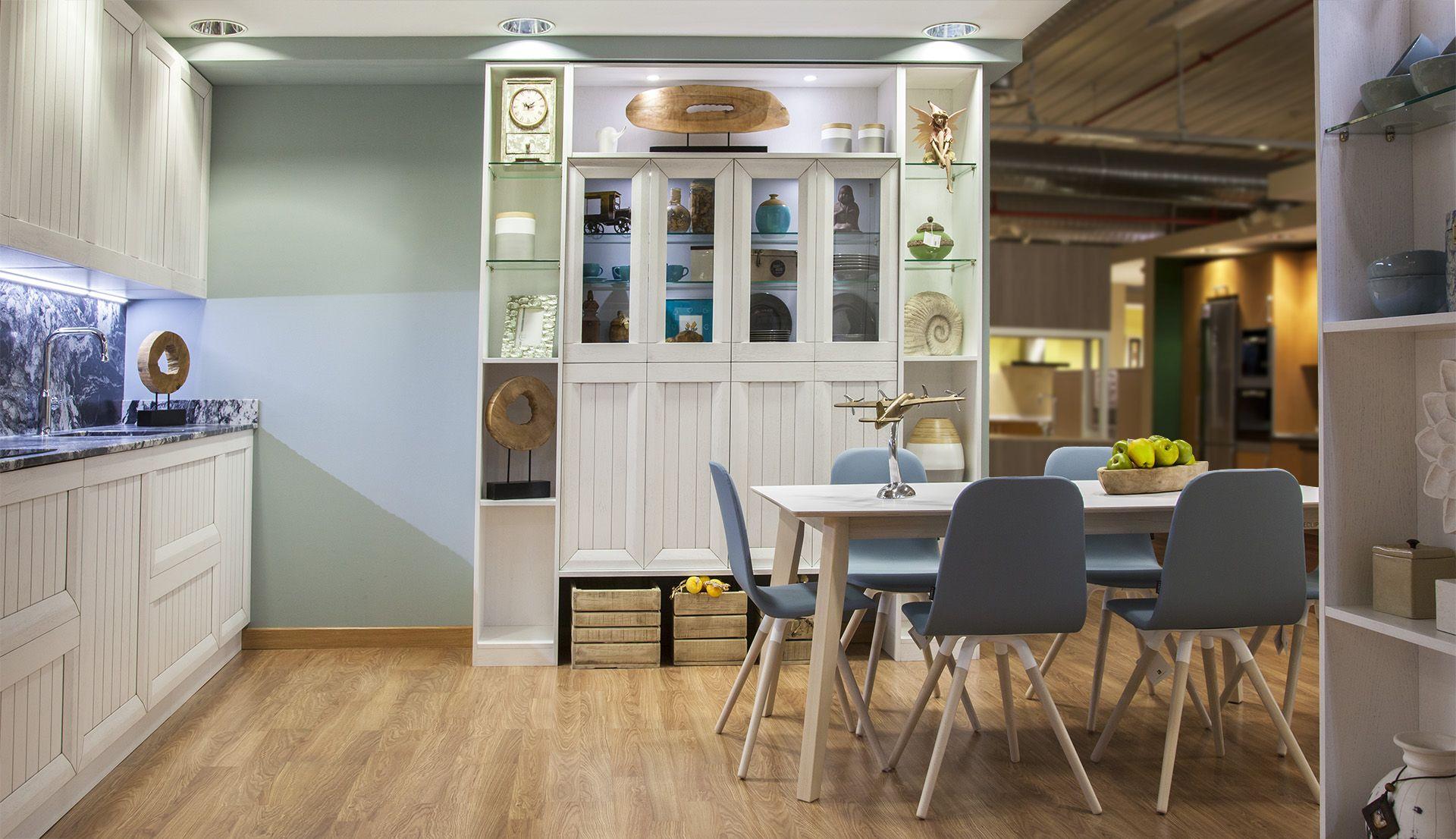 La Vida Se Abre Paso En Tu Cocina Los Muebles Exentos Dan Rienda  # Muebles Cautivo