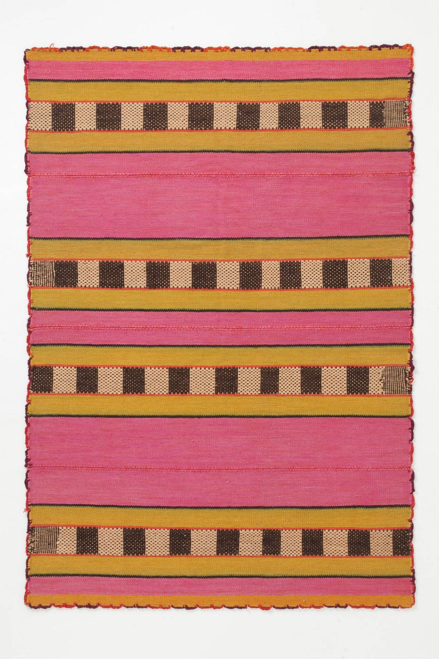 Aymara Rug from Anthropologie. love.