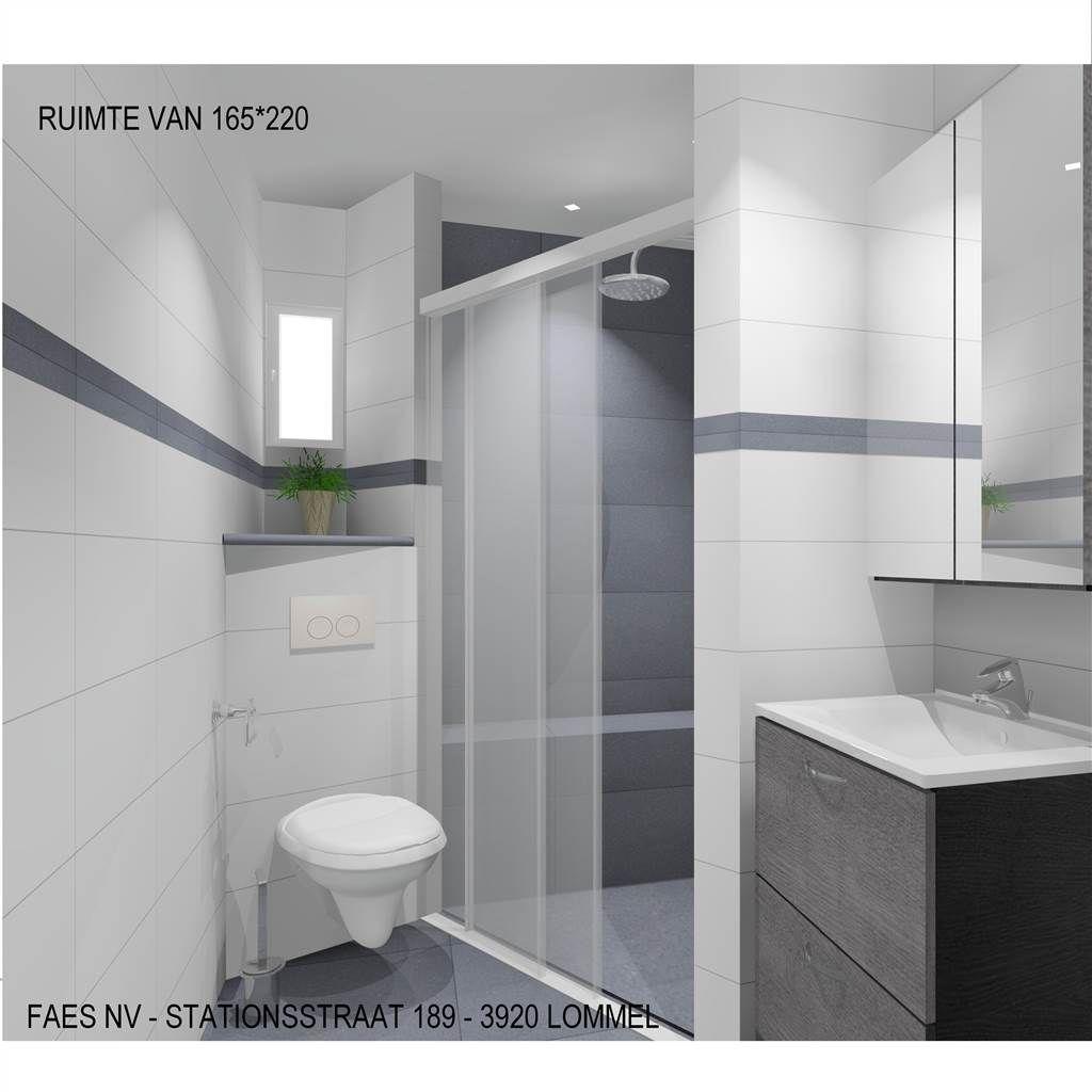 3d kleine badkamer met ruime inloopdouche faes lommel home