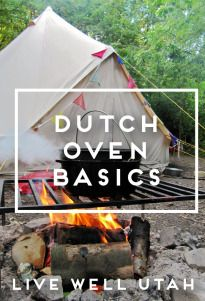 Cooking in a Dutch oven can be fun, but you can't just load your dirty Dutch oven into the dishwasher when the cooking is done. LIVE WELL UTAH
