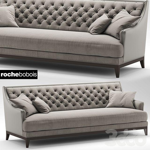 3d sofa fauteuil epoq roche bobois for Fauteuil divan