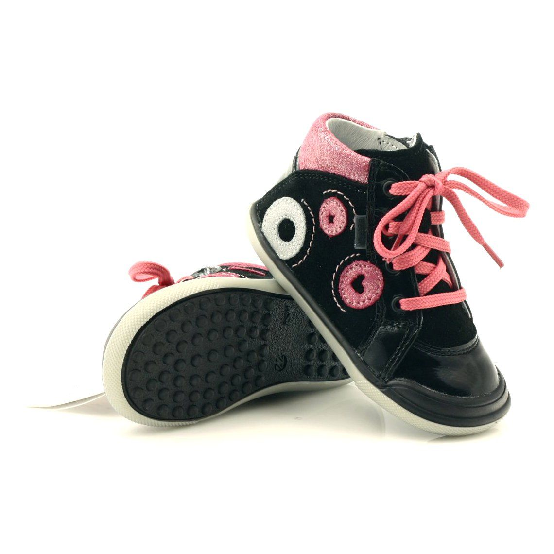 Trzewiki Na Suwak Bartek Czarne Lakier Rozowe Szare Childrens Shoes Baby Shoes Kid Shoes