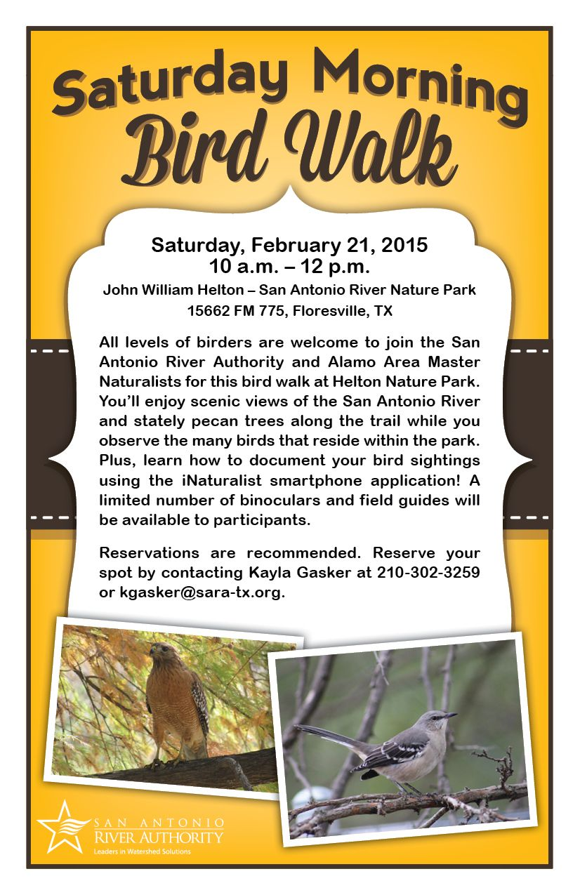 Join Sara And The Alamo Area Master Naturalists For This Free