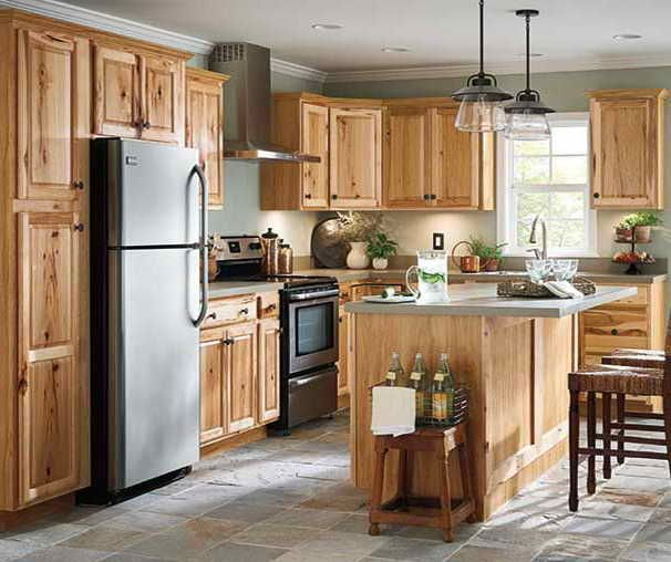 Diamond Now Denver Hickory Cabinets Kitchen Cabinet Design