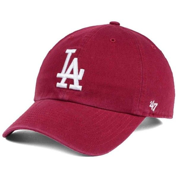 Burgandy Los Angeles DODGERS Custom Color Fitted Cap