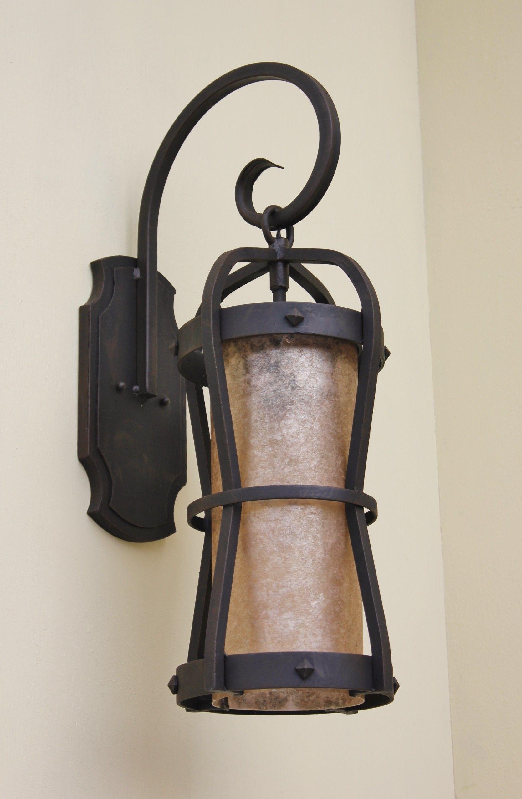 Contemporary Spanish Wrought Iron Light Exterior Light Fixtures Wrought Iron Lights Iron Lighting