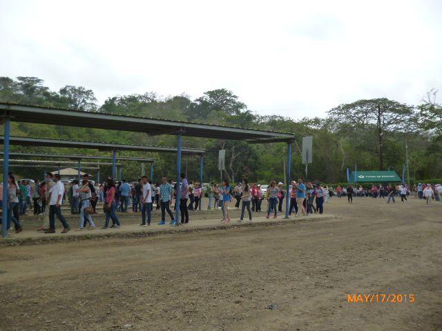 Las largas filas que hubo aquel día eran interminables.