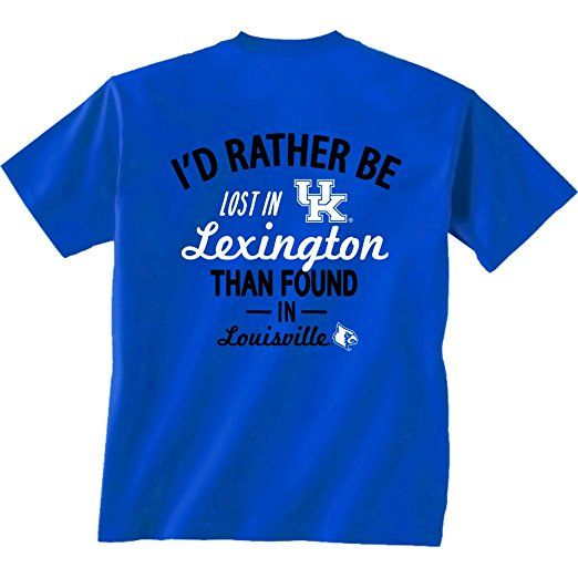 Amazon.com : NCAA Lost and Found Short Sleeve T-Shirt : Sports & Outdoors #KentuckyBasketball #bbn #kentuckybball #UofK #uk #marchmadness #ncaatourney #universityofKentucky