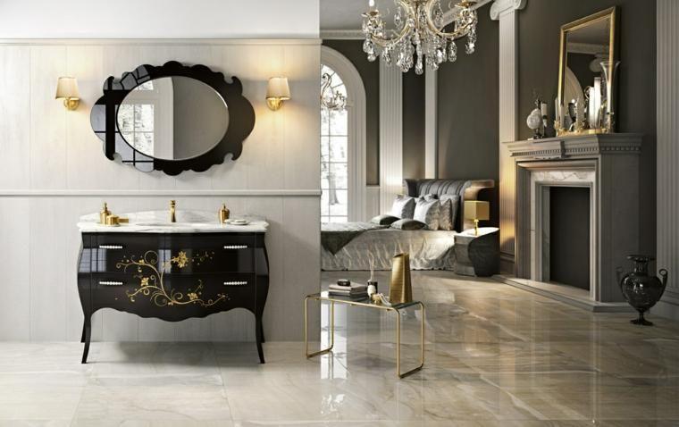 Italiaans badkamermeubilair met een klassiek ontwerp badkamer