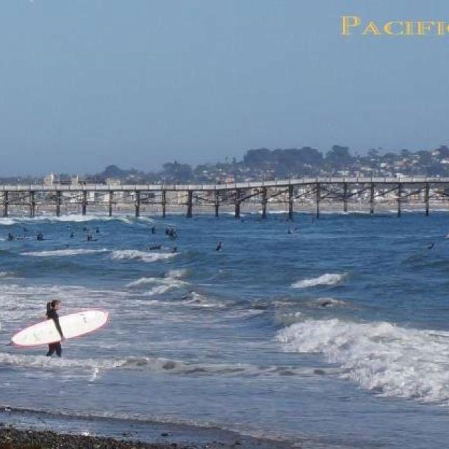 South Pacific Beaches: Pacific Beach, San Diego