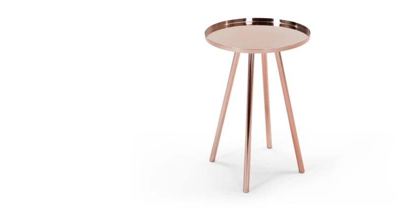 Alana Runder Nachttisch Kupfer In 2020 Nachttisch Nachttisch