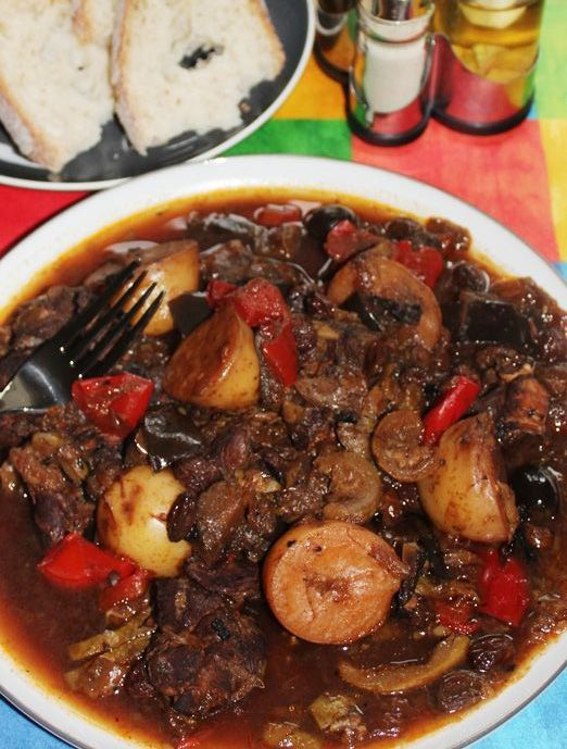 Goat Stew Slow Cooker Recipe In 2019 Healthy Eating