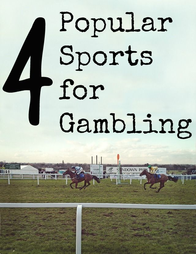4 Popular Sports forGambling Online gambling is a fun way to place bets on your favorite sports. You can manage multiple bets from one account and see what odds and potential payout are. It's easier than ever! And you can do it all from the comfort of your home or smartphone while you watch events. …Read more...