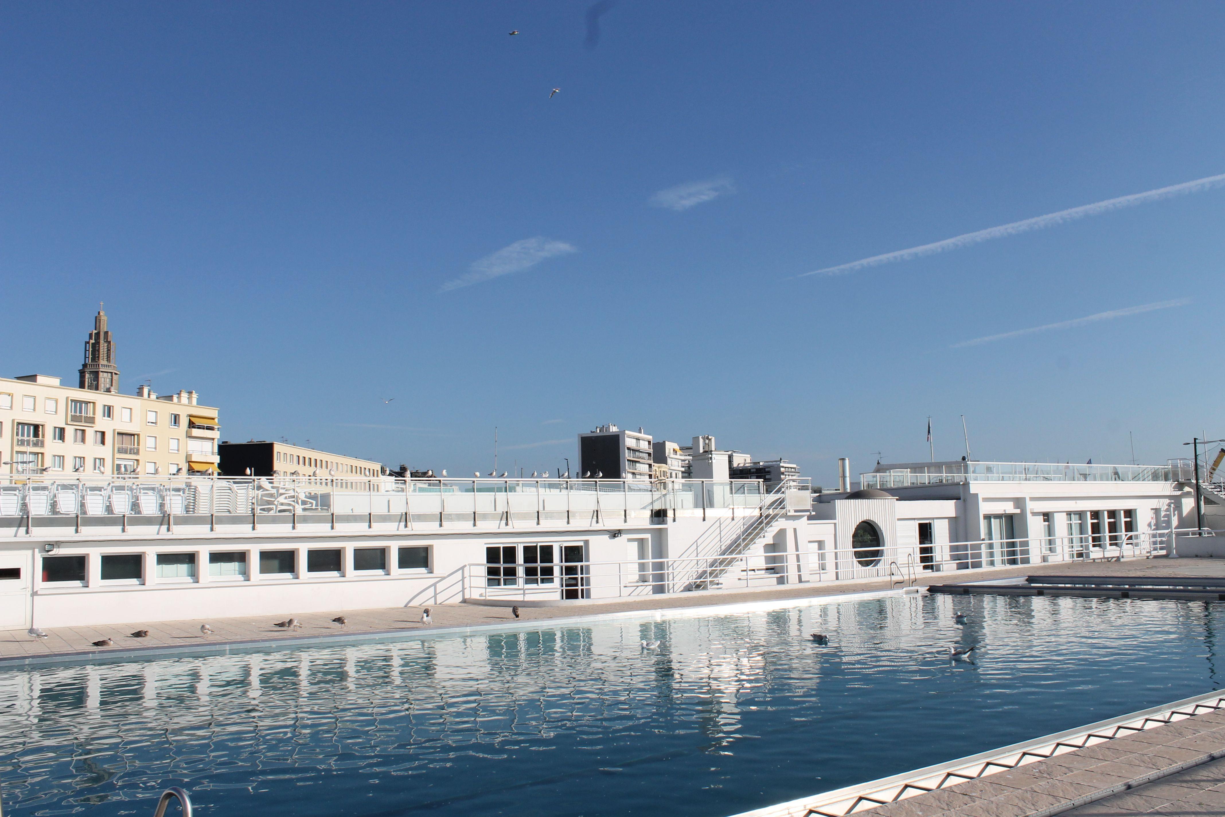 la piscine du cnh club nautique havrais france. Black Bedroom Furniture Sets. Home Design Ideas