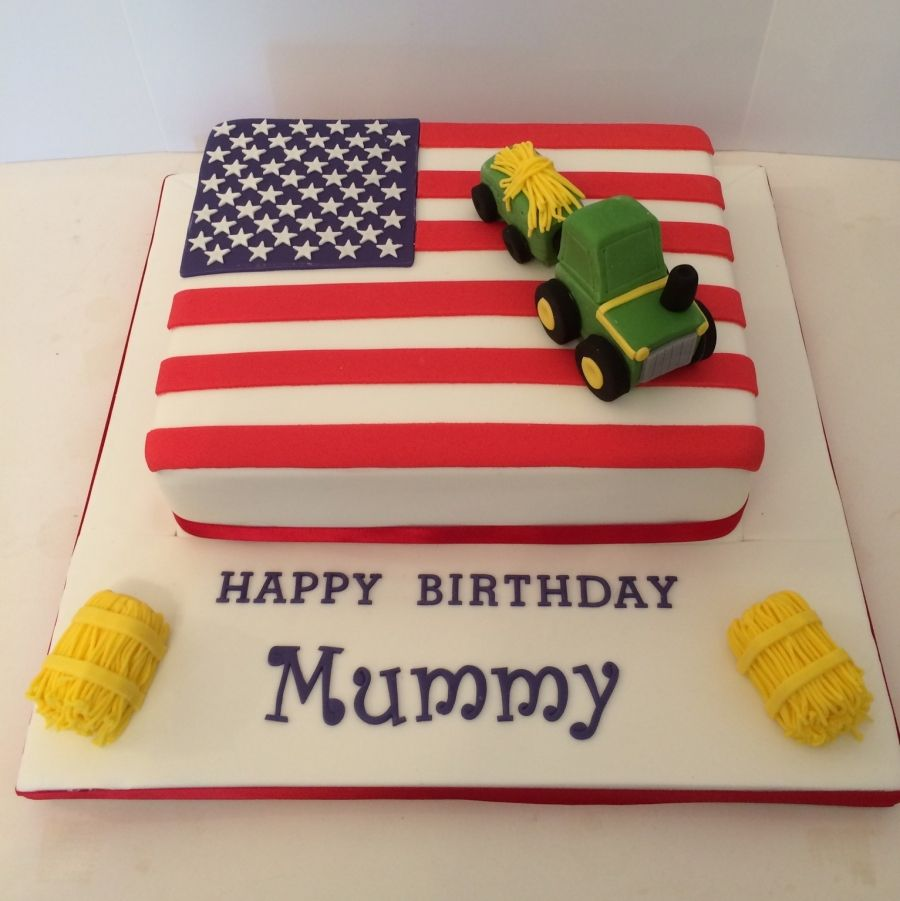 American Flag Cake My Cakes Pinterest Flag Cake Cake And