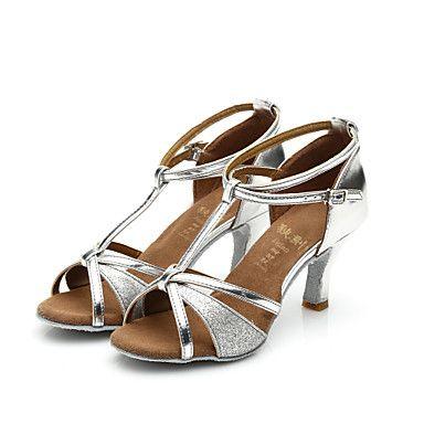 1ced207e Zapatos de baile ( Negro / Marrón / Rojo / Plata / Oro ) - Latino / Salsa /  Samba - Personalizables - Tacón Personalizado 4690659 2016 – €19.00